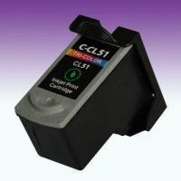 China Remanufactured Printer Ink Cartridge, CL-51, Suitable for Canon Pixma Inkjet Printers on sale