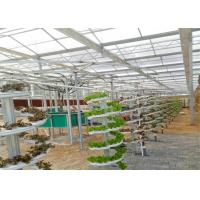 Quality Modern Agricultural Production Hydroponic Greenhouse 150 / 200mic Greenhouse Covering for sale
