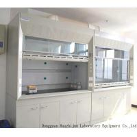 Quality Low Noise Floor Mounted Fume Hood 1.2/1.5/1.8m Acid Resistant Countertops for sale