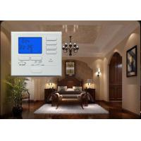 Quality 24 V LCD Electric Non-rogrammable Heat Pump Thermostat With Emergency Heat for sale