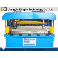 Quality Color Steel Corrugated Iron Rolling Machine Touch Screen CE for sale