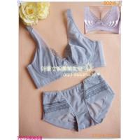 Buy Fashionable New Style OEM Breathable Embroidered Matching Bra And Underwear Sets For Women at wholesale prices