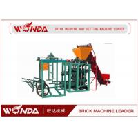 China QTJ400 Hydraulic Cement Hollow Block Making Machine Semi Automatic Easy Operation on sale