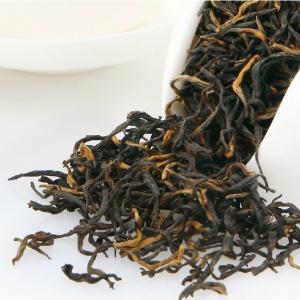 China Hand Made Flavored Keemun Black Tea , Chinese Organic Black Tea 50g/Kraft Bag on sale