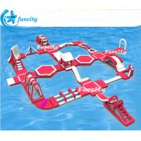 Buy cheap 58.5 L * 14 W M Lake Inflatable Water Park Adults Floating Water Parks Durable from wholesalers