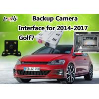 Quality HD Reverse Camera , 360 Bird View Cameras Interface with Dynamic Parking Guide Line for GOLF 7/ Passat / Skoda for sale