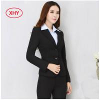 Quality Fashion Slim Fit Corporate Office Uniform Formal Business Work Clothes For Women for sale