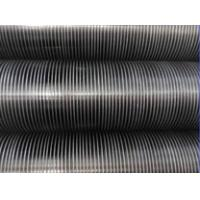 China Heat Exchanger vaporator Water Tank air cooler heat transfer aluminum 1060 Copper L KL LL Type Wound Fin finned  Tubes on sale