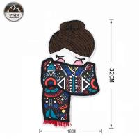 Quality Sew On Iron On Mix Embroidery Cloth Stickers Patches Chapter Decorative Stickers Newest Beautiful Handmade Maid Embroidery Patch for sale