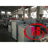 Buy cheap Wood Plastic Composite Board/Sheet Making Machine (PVC powder+wood/rice husk powder) product