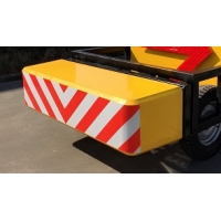 Quality Iorn Aluminum Mobile Vehicle Barrier Electrostatic Spraying for sale