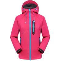 China Outdoor Ladies Windbreaker Jacket , Waterproof Hoodie Womens For Hiking on sale