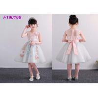 China Unique Boutique Childrens Flower Girl Dresses For 100-110cm 2 Years Kids Anti Static on sale