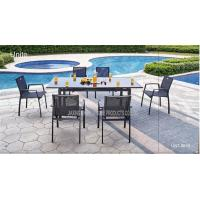 Buy cheap Outdoor / Indoor Patio Furniture Dining Sets , Garden Dining Table And Chairs product