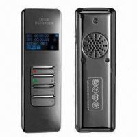 Quality New Arrival Bluetooth Voice Recorders with 4GB Memory Capacity for sale