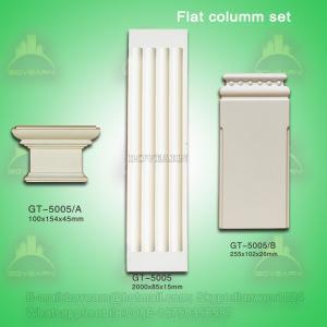 China Green Building Material Plane Roman Pillar on sale