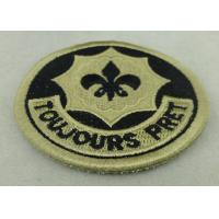 China Toujours Pret  Army Patches With Velcro USA Troop EMB Badge OEM ODM on sale