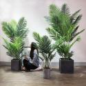 210cm Height Fake Bonsai Plants Ficus Sunflower Bamboo Traveller Banana Bonsai for sale