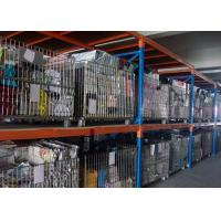 Quality Silvery Foldable Galvanized Pallet Wire Mesh Cages For Warehouse Storage for sale