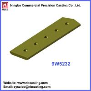 China Cater Pillar dozer blades cutting edges 9W5232 on sale