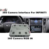 Quality 360 Degree Panoramic View RGB Infiniti Q50/Q60 Rear Camera Interface for sale