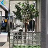 Durable Faux Olive Plant , Artificial Olive Green Tree For Shop Window Decorate for sale