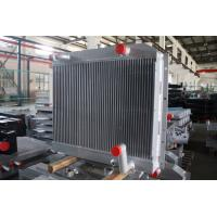 China Customized aluminum bar plate fin heat exchanger combi oil cooler with air after cooler on sale