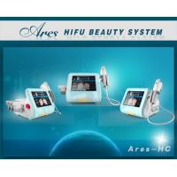 Quality Hifu Anti Aging Wrinkle Removal System Ares-HC 1.5mm 3.0mm 4.5mm Depth Treatment for sale