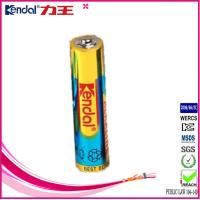 Buy cheap foil jacked with card or shrink packing alkaline 1.5v battery lr03 product