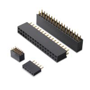 2.0mm DIP type female Header, Y shape terminal straight single row female header