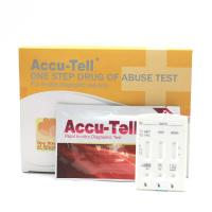 Quality Accu-Tell® Multi-line Drug Rapid Test Cassette (Urine) for sale