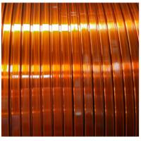 Quality 120 Class Polyvinyl Acetal Enamelled Copper Winding Wire Self - Adhesive Flat for sale