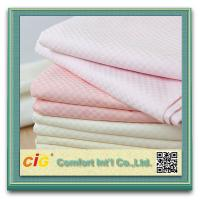 China Multi Color Home Textile Products , Star Hotel Bedding Cotton Satin Bed Sheet Fabric on sale