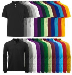 China OEM Colorfast Preshrunk Cotton Custom Mens Polo Shirts on sale