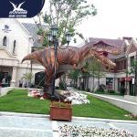 Quality Vivid life size realistic dinosaur statues for park decoration for sale