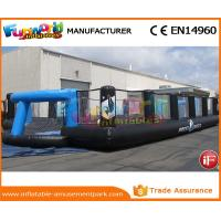 Buy cheap Good Inflatable Sports Games Soccer Court Inflatable Football Field For Kindergarten product