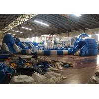 China Customized White Funny Large Inflatable Water Park Equipment For Kids / Adults on sale