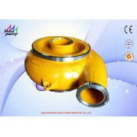 China 8 / 6E - G Sand Gravel Pump Replacement Parts Volute EG6131 Centrifugal Pump Spare Parts on sale