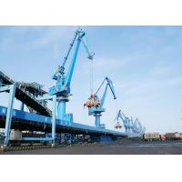 Quality Four Link Type Seaport Port Gantry Crane , Container Handling Heavy Motorized Gantry Crane for sale