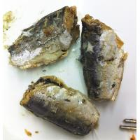 Buy canned mackerel in sunflower oil at wholesale prices