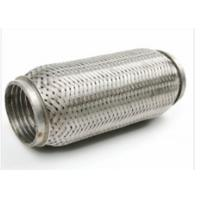 Quality 64 X 90mm Auto Exhaust Flexible Pipe With Interlock 444 + 409L Material for sale
