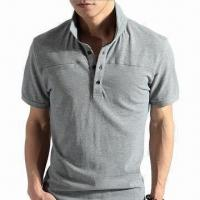 Quality Fashionable Men's Polo Shirt, Made of 100% Cotton, Available in Various Sizes, Comfortable for sale