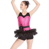 Buy cheap Biketard Jazz Costume Dance Wear Sequins Joints Lace Performance Dance from wholesalers