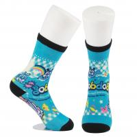 Quality Breathable Eco - Friendly 3D Printed Socks For Adults Custom Made Size for sale