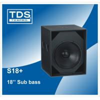 China pa audio 18inch subwoofer speaker S18+ bass speaker cabinet on sale
