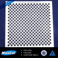 Quality Aluminum Curtain Wall Cladding and Perforated Metal Tube for sale