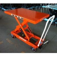 Quality Movable Manual Hydraulic Table Cart Stationary Electric Platform For Lab for sale
