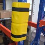 Quality Heavy Duty Warehouse Column Protectors , Structural Pallet Rack Column Protectors  Ce  Fem 10.2.02 Impact for sale