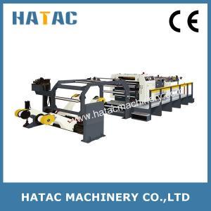 Quality High Accuracy Aluminum Foil Paper Cutting Machine,Newspaper Sheeting Machine,Offset Paper Cutting Machine for sale