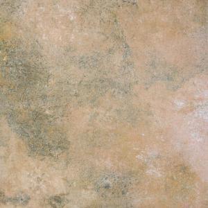 Quality Pictures 3d Glazed Cement Look Porcelain Tile Interior Ceramic Floor Tile Yellow Color 600x600mm Size for sale